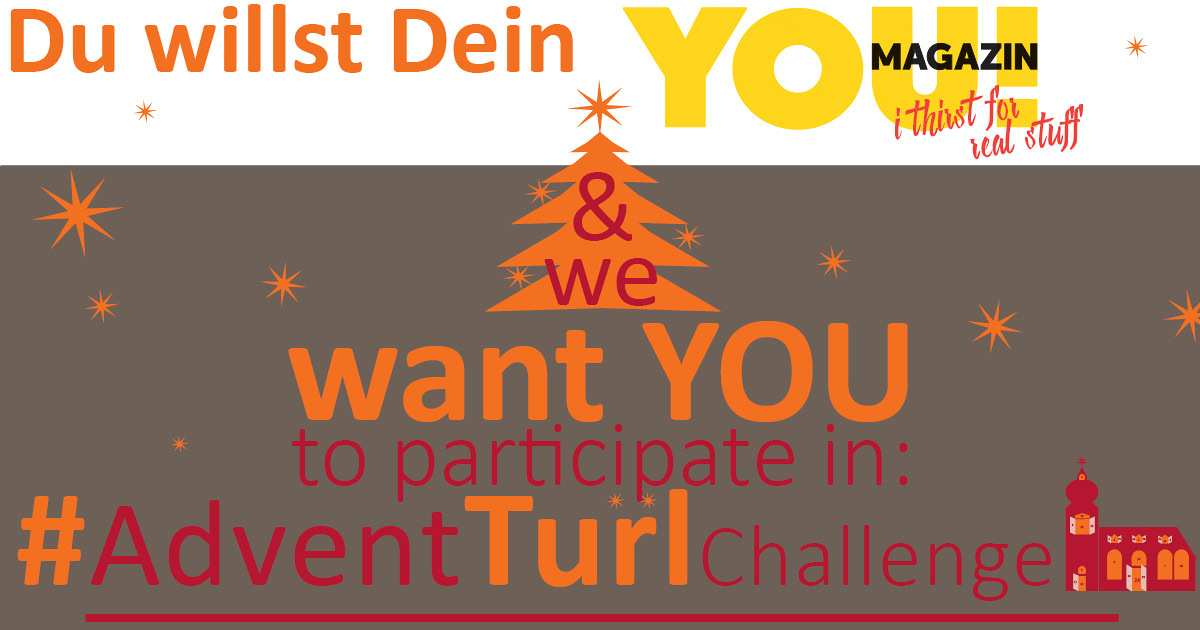 YOU! für #AdventTuerlChallage-Gewinner